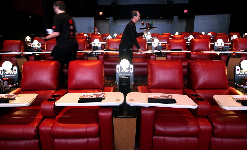 The dine-in AMC theater in Marina del Rey also has a bar.
