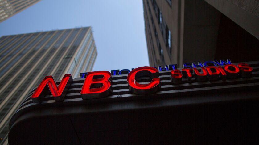 NBC News headquarters in Manhattan