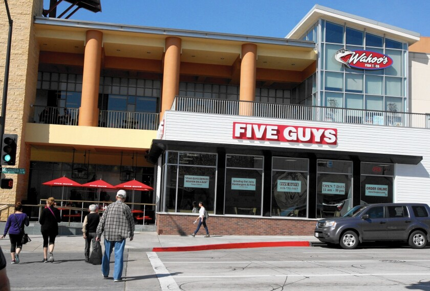 Five Guys Burgers and Fries in Burbank