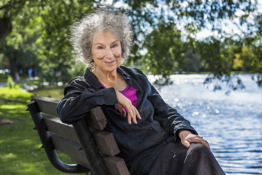 "Margaret Atwood, author of ""The Testaments."""
