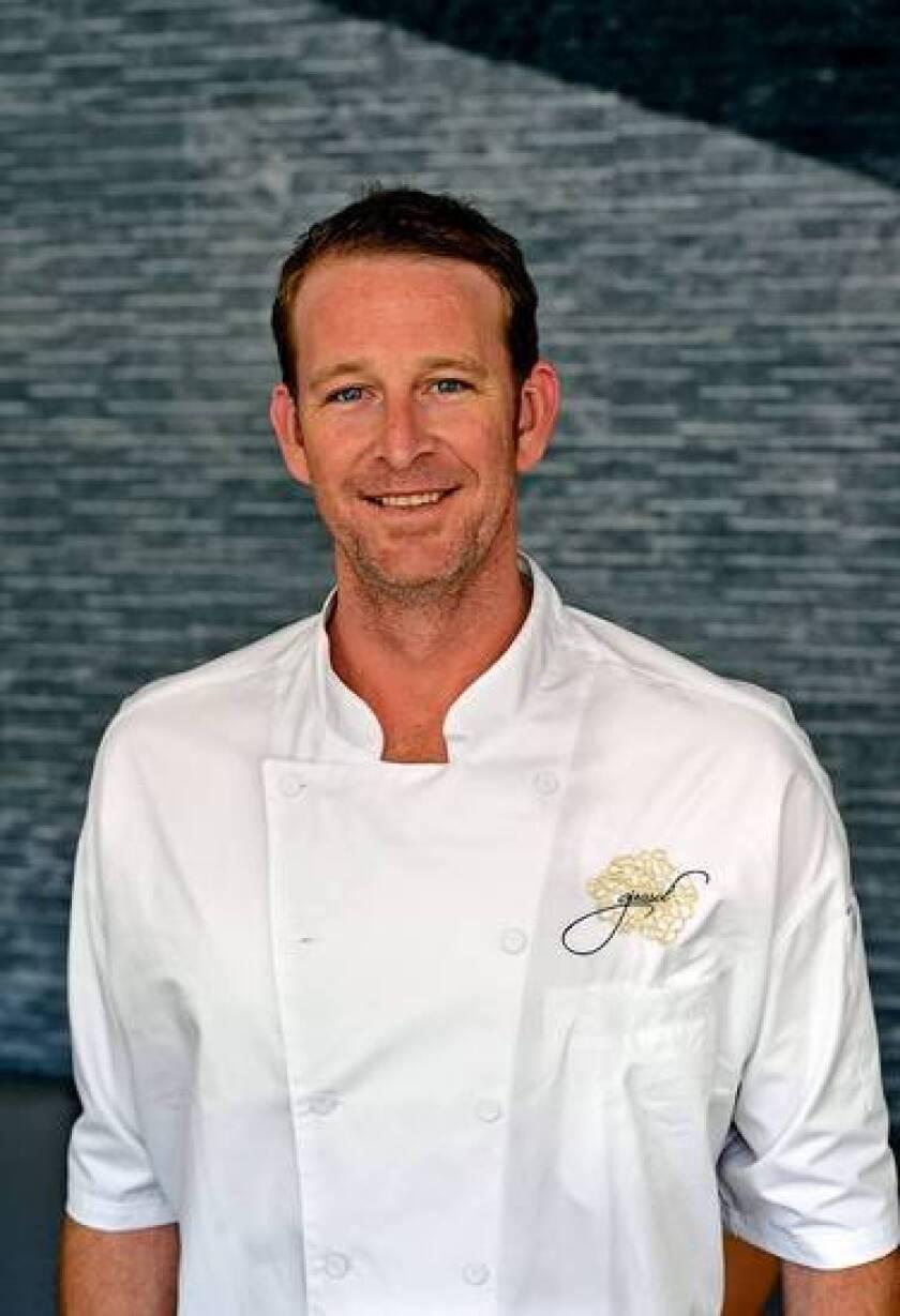 CJ Jacobson, chef at Girasol in Studio City.