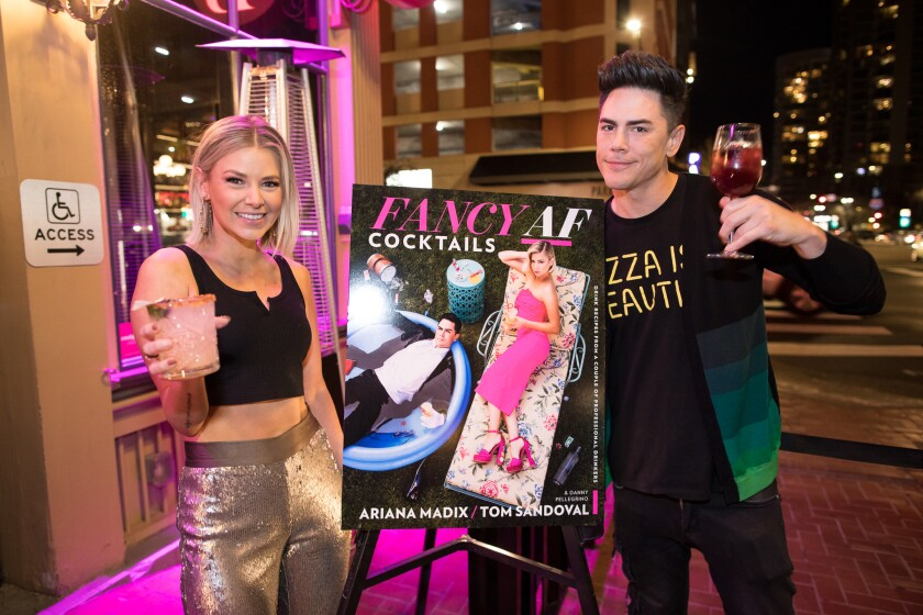 Book signing with Tom Sandoval and Ariana Madix