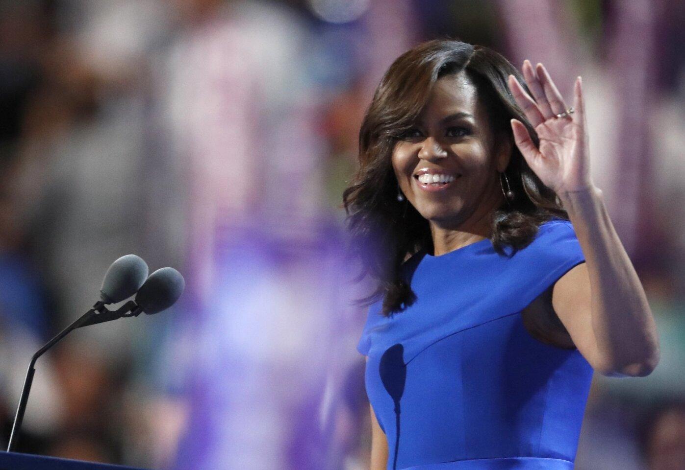 Michelle Obama's inspirational speech
