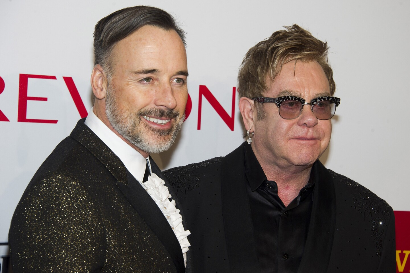 Celebrity weddings & engagements | David Furnish and Elton John