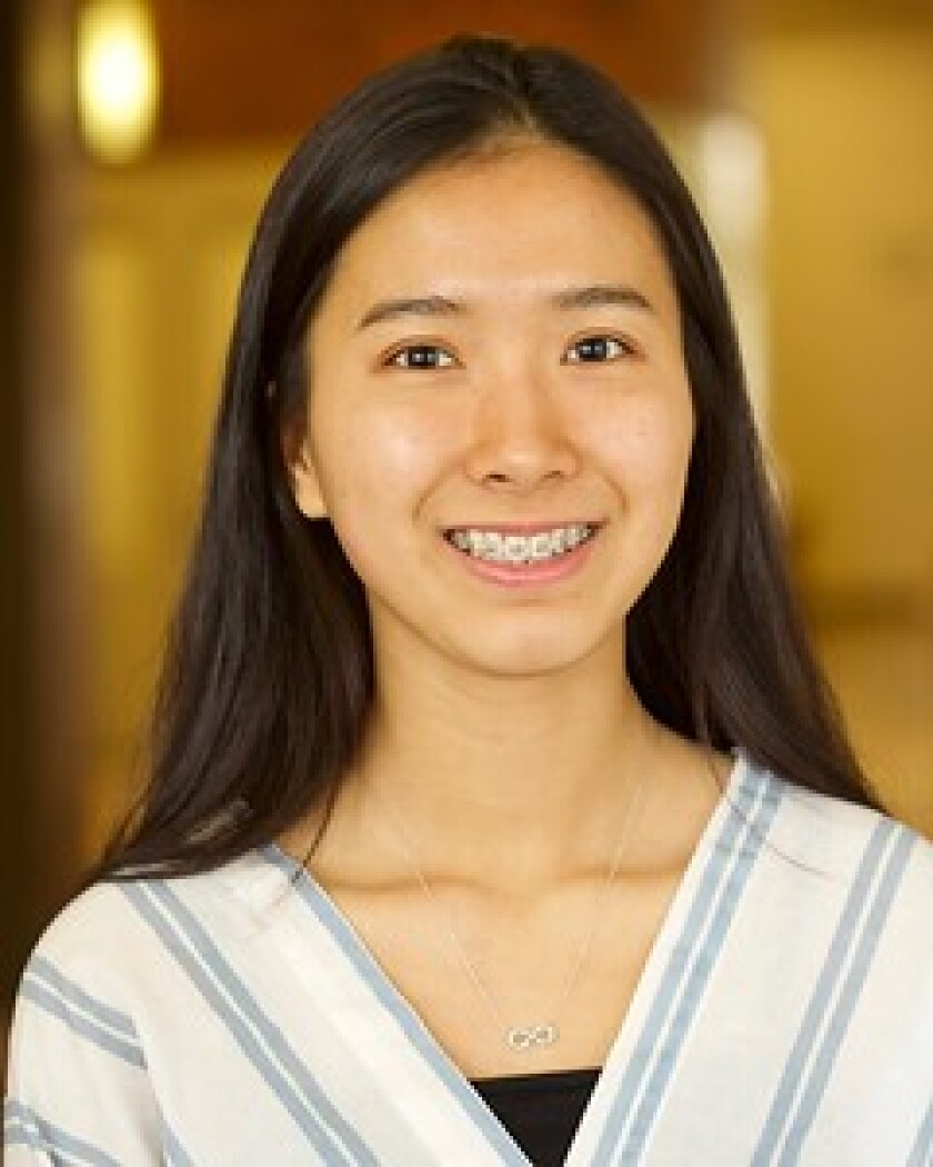 Nhi Tran is among three MiraCosta College students who have won this year's Jack Kent Cooke Foundation's Undergraduate Transfer Scholarship.