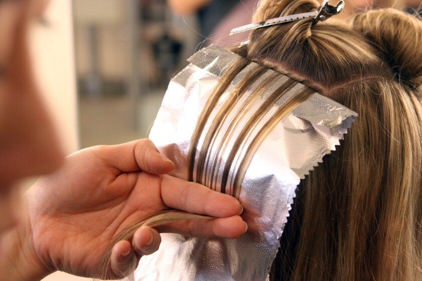 A hair salon visit was just one of many outrageous expense reports that were turned in during 2013, according to one report.