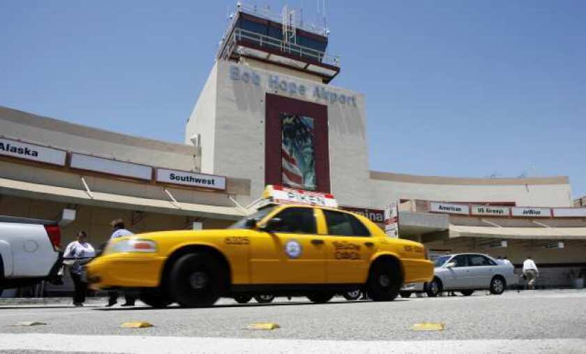 Bob Hope Airport seeks to capitalize on West L.A. construction delays