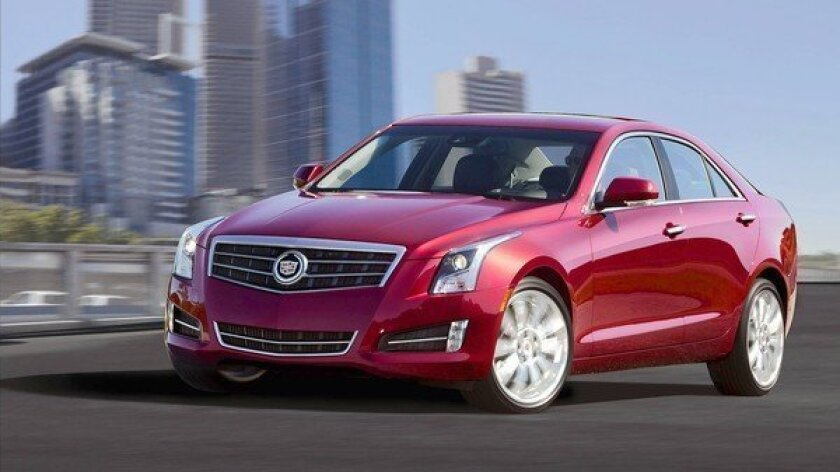 Car review: Cadillac makes a right turn with 2013 ATS