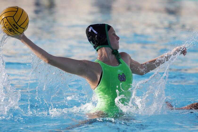 High School Roundup: Costa Mesa, Marina girls' water polo teams advance to CIF title matches