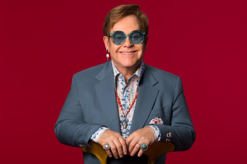 As Elton John Tour Continues He Talks Rocketman Family And