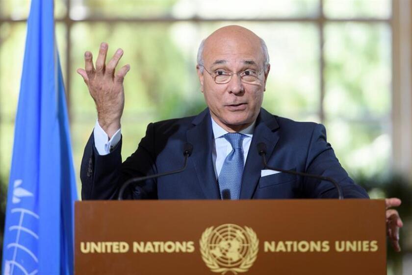 La ONU confirmó hoy que participará en las conversaciones de paz sobre Siria que se celebrarán el próximo 23 de enero en Astaná, aunque al encuentro no acudirá el mediador de la organización, Staffan de Mistura. EFE/ARCHIVO