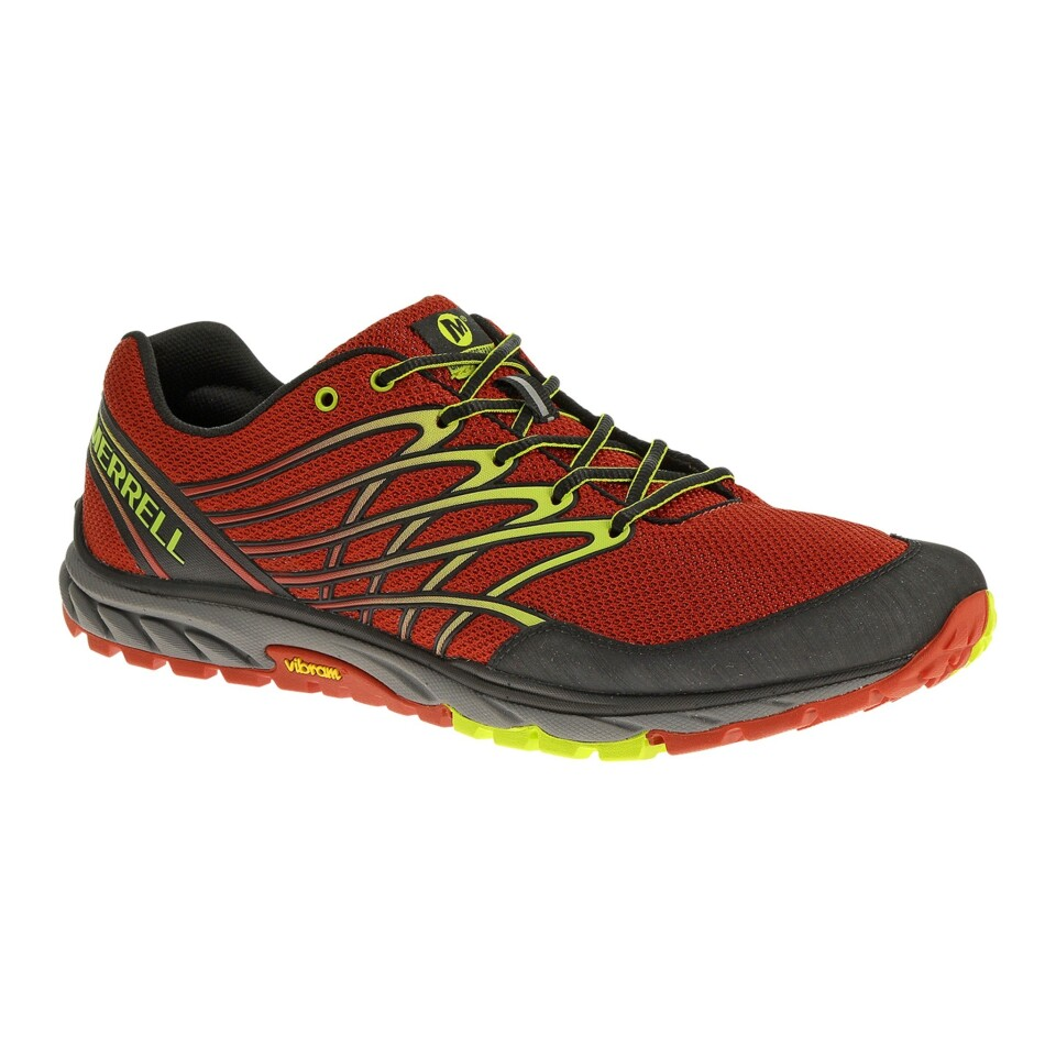 """The Merrell Bare Access Trail's tactile sole lets you """"feel"""" the trail, but it still provides cushioning."""