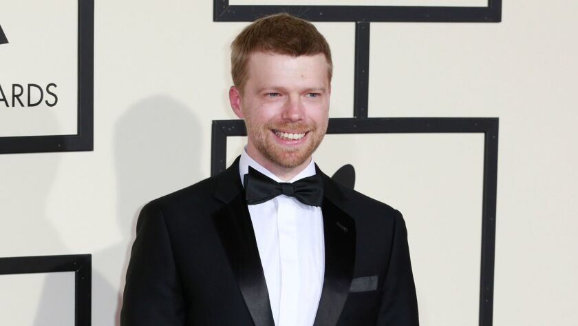 Composer Andrew Norman, shown in 2016, presented his first opera, partly inspired by a 1902 Georges Méliès sci-fi silent film, Friday night at Disney Hall.