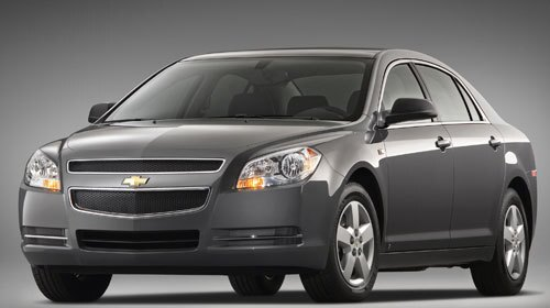 According to the data collected in J.D. Power and Associates' 12th-annual Rental Car Satisfaction Study, published last November, here are the top 10 vehicle manufacturers both business and leisure travelers rented in 2007. #1 -- Chevrolet 18% Pictured: Chevrolet Malibu EPA Fuel Economy: 17-22 city/ 26-30 hwy Available Engines: 169-hp, 2.4-liter I-4 252-hp, 3.6-liter V-6 Available Transmissions: 4-speed automatic w/OD 6-speed automatic w/OD 6-speed automatic w/OD and auto-manual