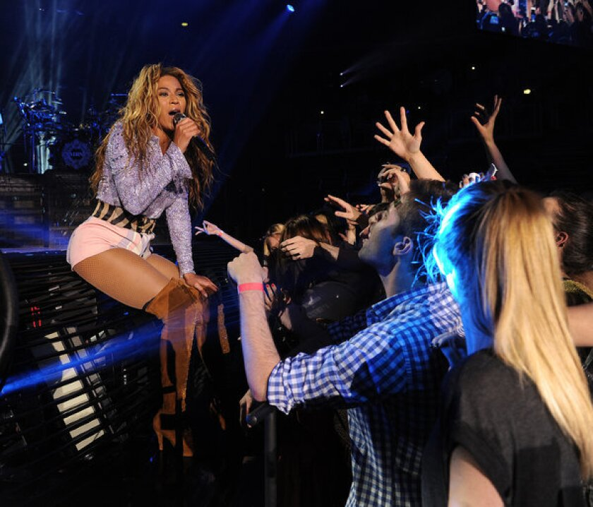"""Beyonce performs on her """"Mrs. Carter Show World Tour 2013"""" in Zagreb, Croatia, earlier this month. She is honorary chair of this year's Met Gala."""