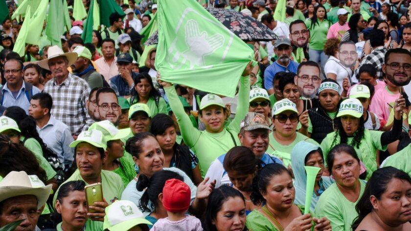 GUATEMALA-ELECTIONS-CAMPAING-CLOSING-TORRES