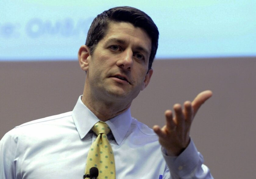 """An old lie about Social Security resurfaces: Rep. Paul D. Ryan, R-Wisc., is out with another of his annual """"budgets."""""""
