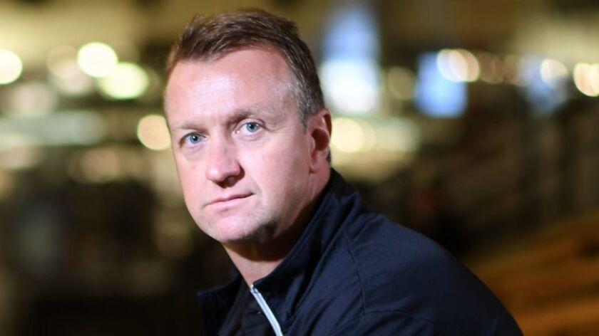 Kings general manager Rob Blake