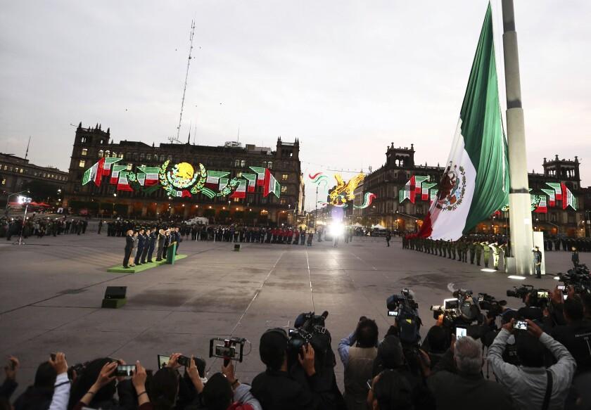 Mexico Quake Anniversary