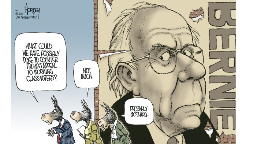 If Democrats wanted to win working class voters, they should have nominated Bernie Sanders.
