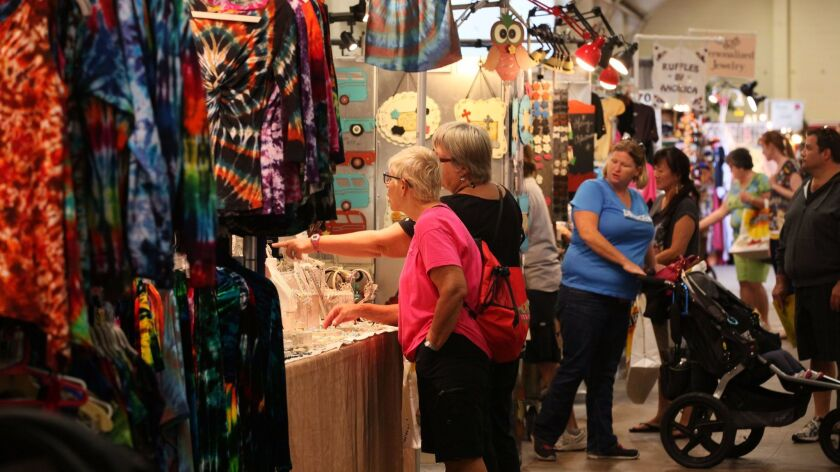 The annual Harvest Festival Original Art & Craft Show features hundreds of artists and crafters.