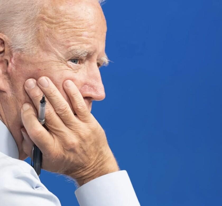 Foto tomada del sitio web de transición de Joe Biden.