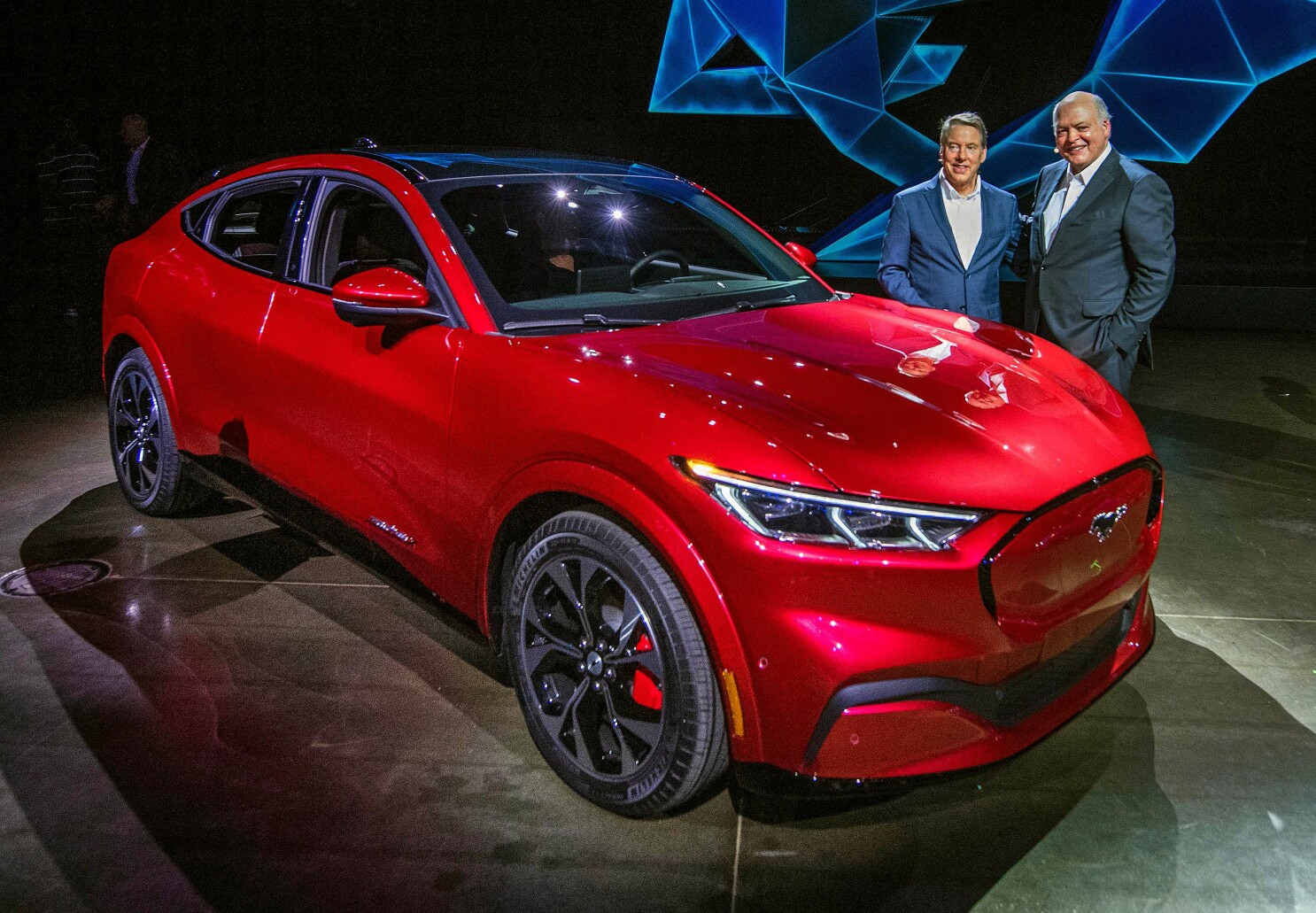 The Electric Mustang Is Just The Start Of Ford S Drive To Hit 50 Mpg In 6 Years Los Angeles Times