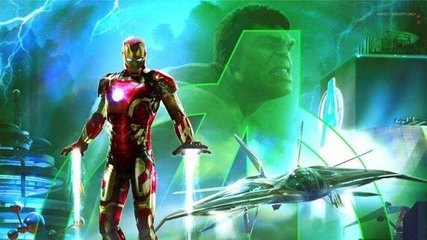 Disney's California Adventure expansion will feature Marvel