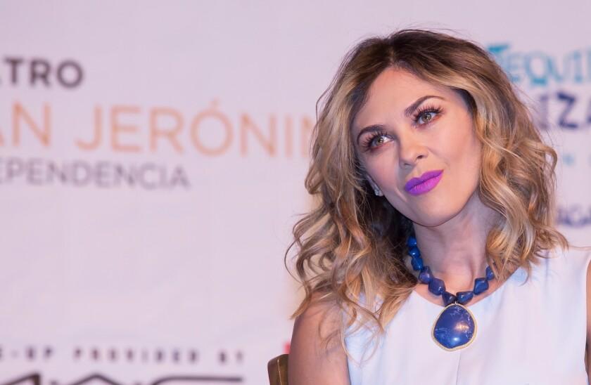Aracely Arámbula, madre de dos de los hijos de Luis Miguel.