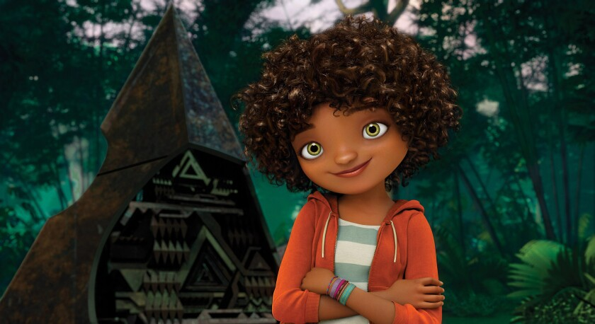 Music sensation Rihanna voices the role of Tip in 'Home'