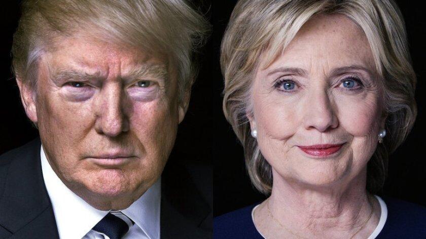 Hillary Clinton y Donald Trump en busca de la Casa Blanca