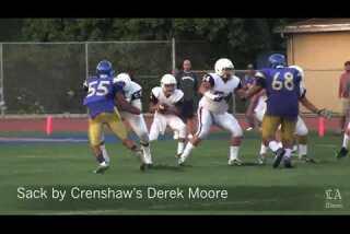 Crenshaw vs. Garfield scrimmage