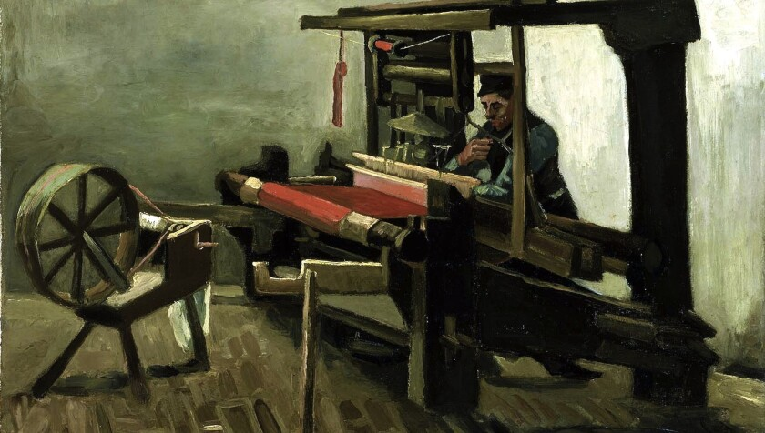 """Weaver"" by Vincent van Gogh forms part of a new exhibit coming to the Bellagio Gallery of Fine Art."