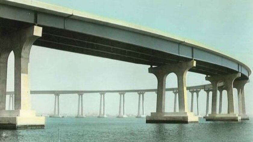 The Coronado bridge