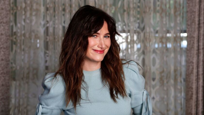 BEVERLY HILLS, CALIFORNIA: April 20, 2017 - Kathryn Hahn stars alongside Kevin Bacon in the quirky n