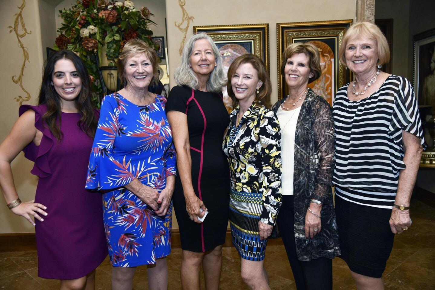 Dreamkeepers board members Alexis Ranglas-Behseta, President Sandi Chenoweth, Secretary Debbie Weiner, Maureen Billington, CFO/Treasurer Pat Konkle, Vice President Pat Gregory