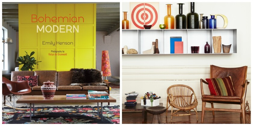 In her new book 'Bohemian Modern,' stylist Emily Henson highlights distinctive European homes that blend color, pattern and influences from different eras.