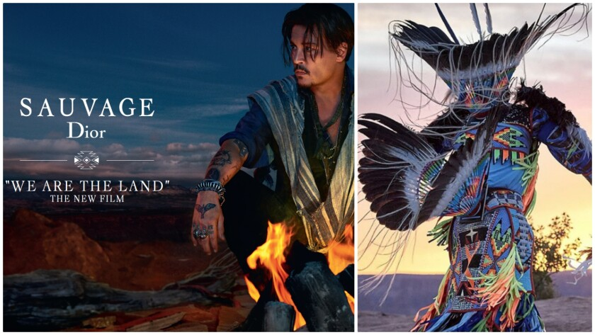 Scenes from the recently shot Dior Sauvage ad campaign starring actor Johnny Depp.