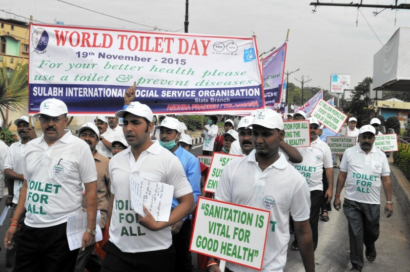 World Toilet Day in India