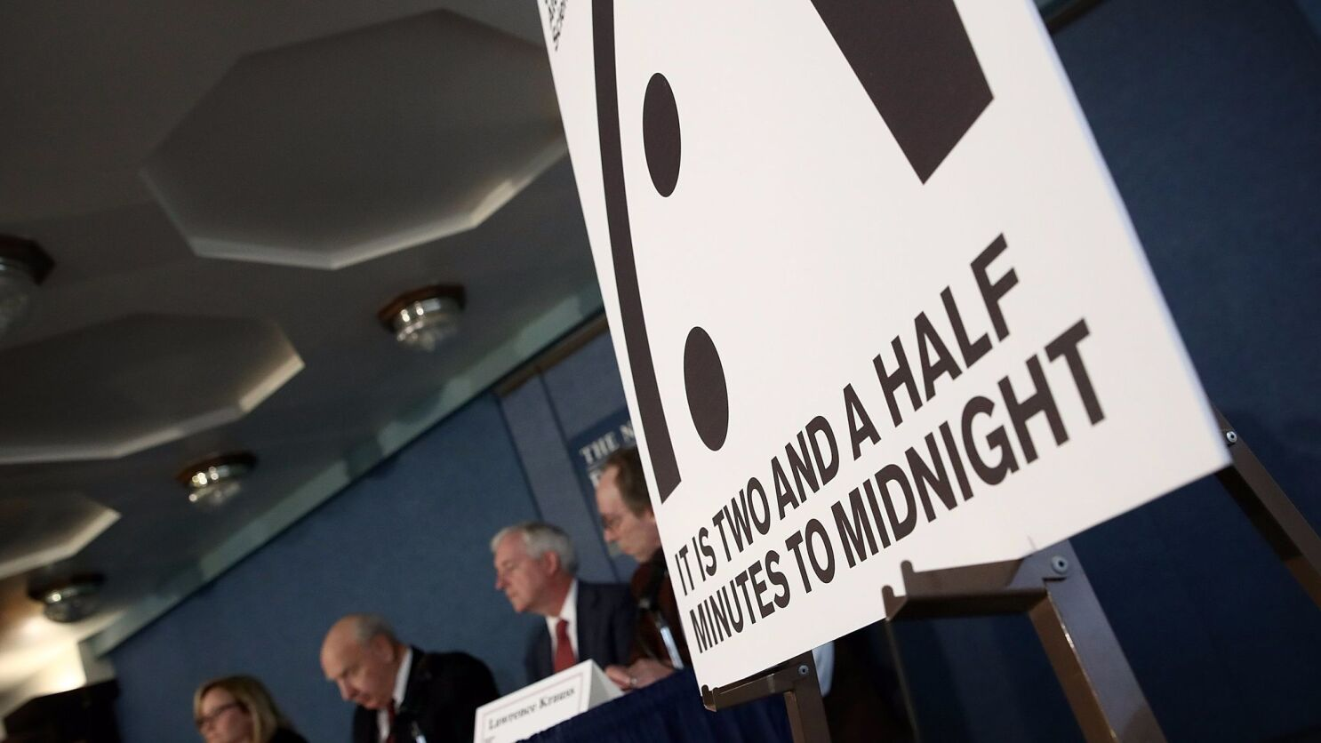 Scientists Move Doomsday Clock Closer To Midnight Trump S