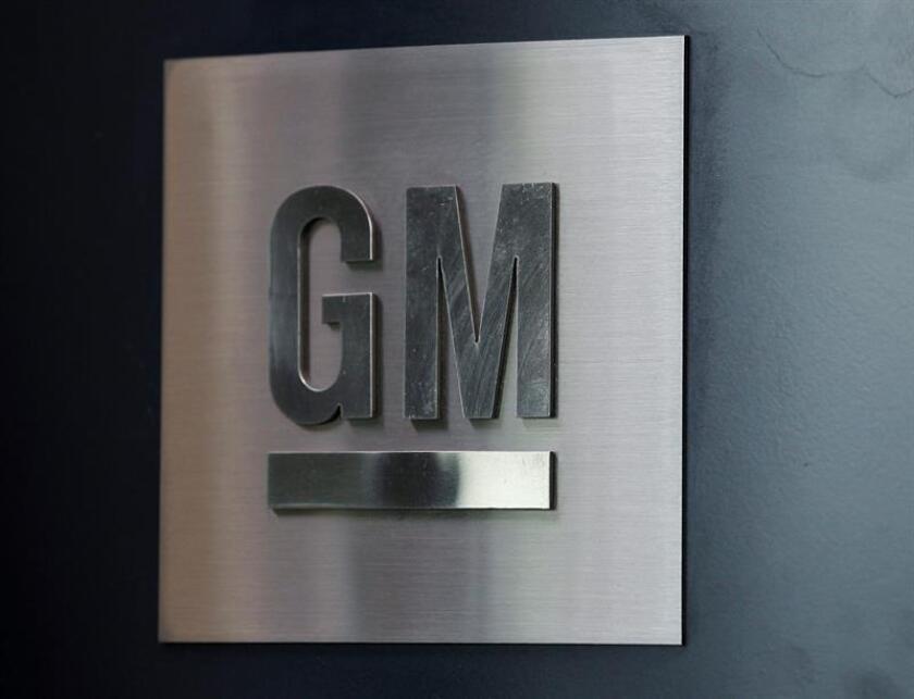 Vista del logo de General Motors (GM). EFE/Archivo