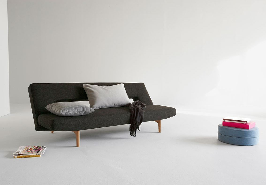 Expand your small living space with the modular Puzzle Wood Sofa Bed from Innovation USA, a convertible sofa that folds easily into a bed. Its adjustable backrest can be adjusted to three different positions: sofa ...