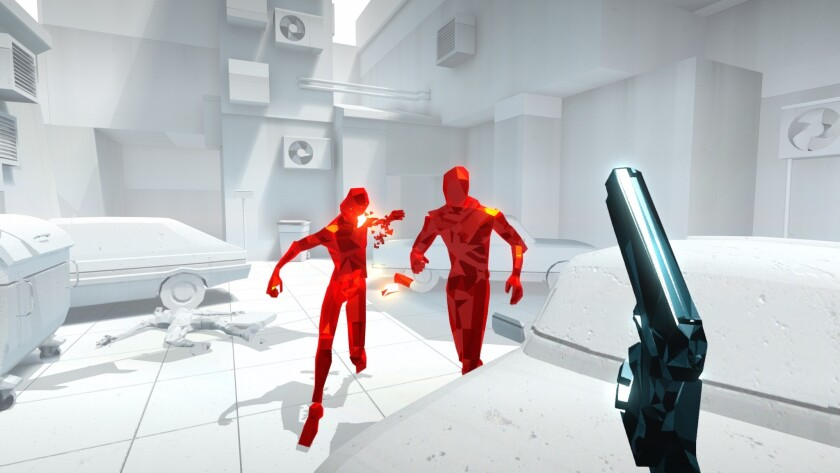 """Superhot"" upends the idea of the first-person shooter, bringing a level of artistic elegance to the genre."