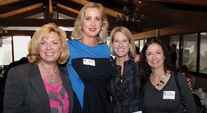 Nancy Bailey, Sophia Alsadek, Barbara Edwards, Anne Gruzdowich (Photo: Jon Clark)