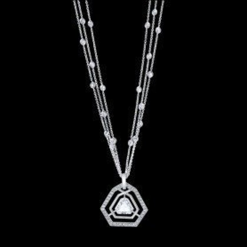 DIAMOND CREATION FITS COUNTRY FRIENDS EVENT...Rancho Santa Fe's John Matty has created a dazzling diamond necklace to mark The Country Friends' 60th Diamond Anniversary.   The sparkler, with 60 diamonds in all, is one of the opportunity drawing prizes at the nonprofit's annual Art of Fashion on Thu