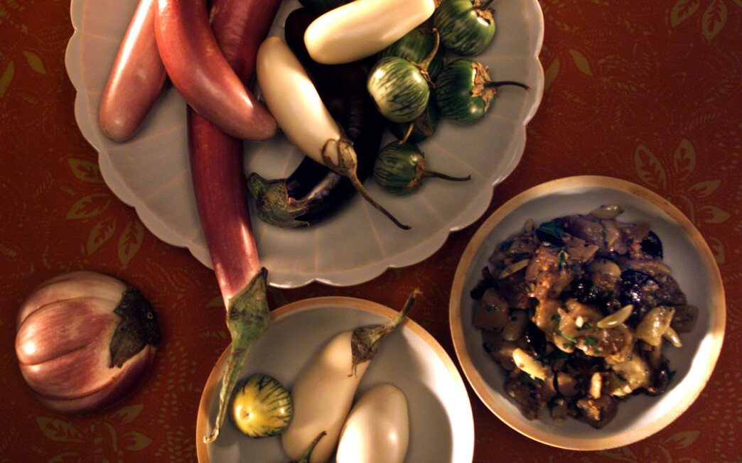 Provencal Eggplant Salad With Olives and Capers