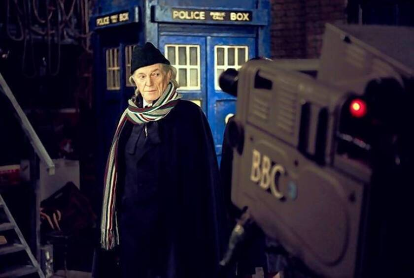 """""""An Adventure in Space and Time,"""" about the First Doctor, William Hartnell (David Bradley), is also a history of the television show."""
