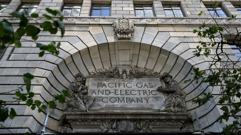 Pacific Gas & Electric headquarters in San Francisco.