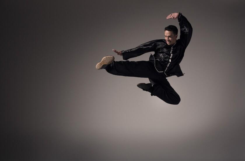 DJ Laidback Luke is also a world champion Kung Fu martial artist. (Ruud Baan)
