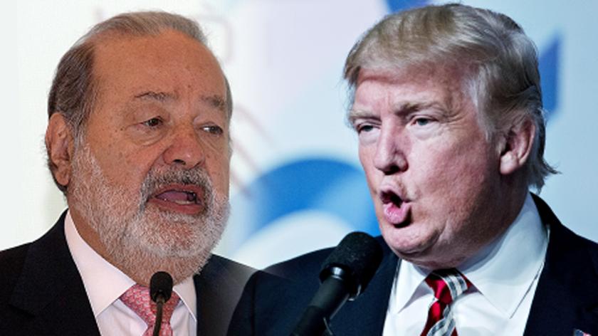 El candidato republicano a la Casa Blanca, Donald Trump, acusó hoy al magnate mexicano Carlos Slim de usar su influencia en el diario The New York Times para ayudar a la aspirante demócrata, Hillary Clinton.